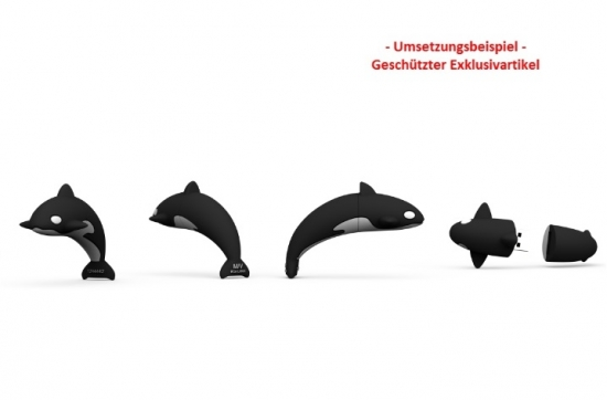 USB-Stick in Sonderform Orca